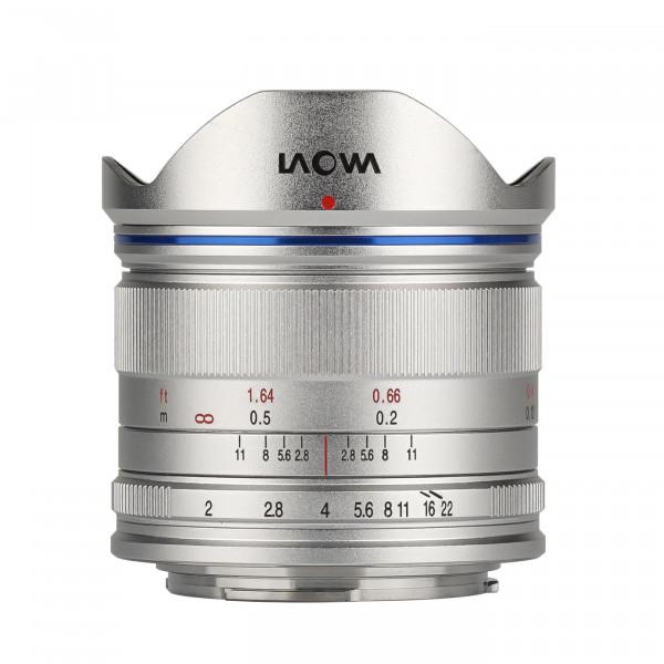 LAOWA 7,5mm f/2,0 Objektiv für MFT, silber