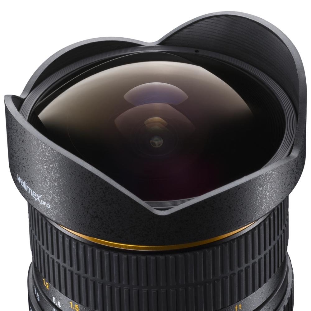 Walimex pro 8//3 5 fisheye II APS-C Canon EF-S by Studio-ausruestung.de