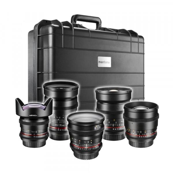Walimex pro Video UWW-Portrait Set 5x Canon EF