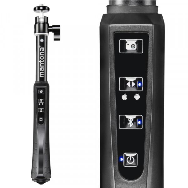 mantona Selfie Stick XL mit Fernbedienung B-Ware