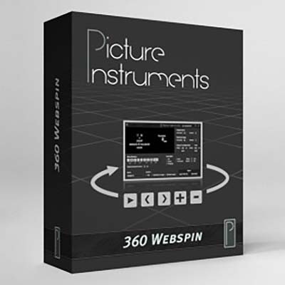 Picture Instruments - 360 Webspin Software für 360° Produktfotogafie
