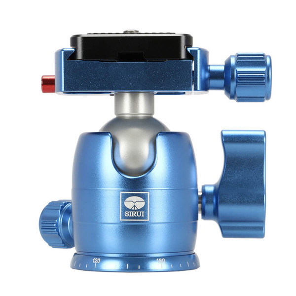 SIRUI B-00B Einsteiger Kugelkopf Alu blau - 70mm - B00-Serie (Stativkoepfe)