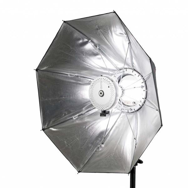 aurora Firefly II Beauty Box Silber, Ø 65 cm + C-Lux Studio-Kit