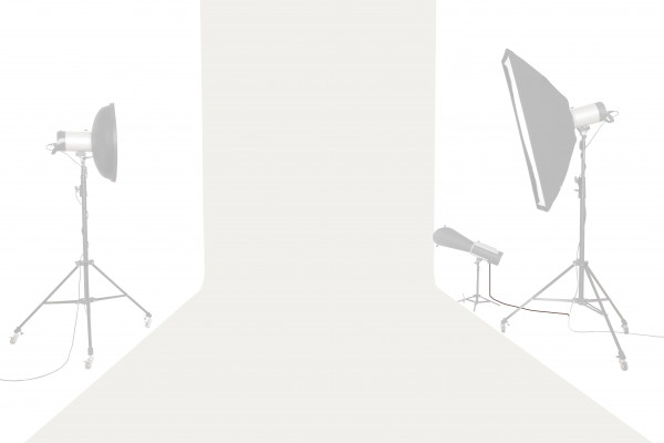 Tetenal Hintergrundkarton 2,18x11m, Super White