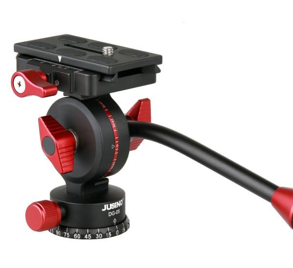 JUSINO DG-05 Hydraulischer Videokopf Videoneiger