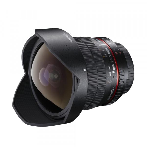 Walimex pro 8/3,5 Fisheye II APS-C Nikon F AE