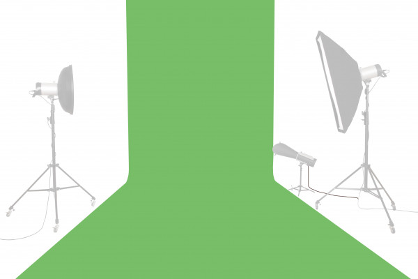Tetenal Hintergrundkarton 1,35x11m, Tech Green