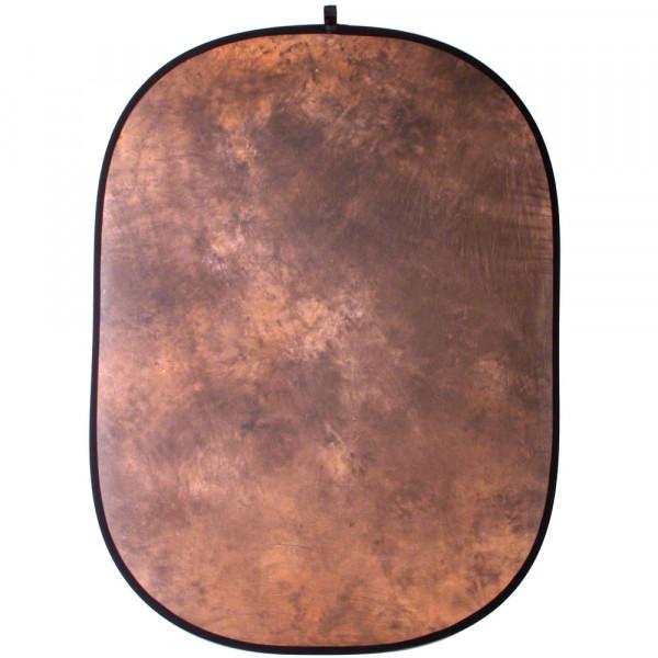 Walimex Falthintergrund braun batik, 146x200cm