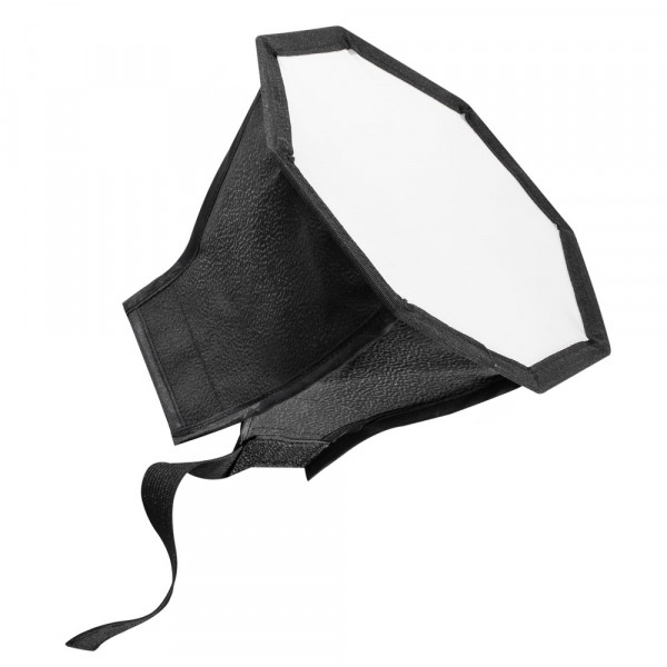 Walimex Octagon Softbox Ø18cm für Systemblitz