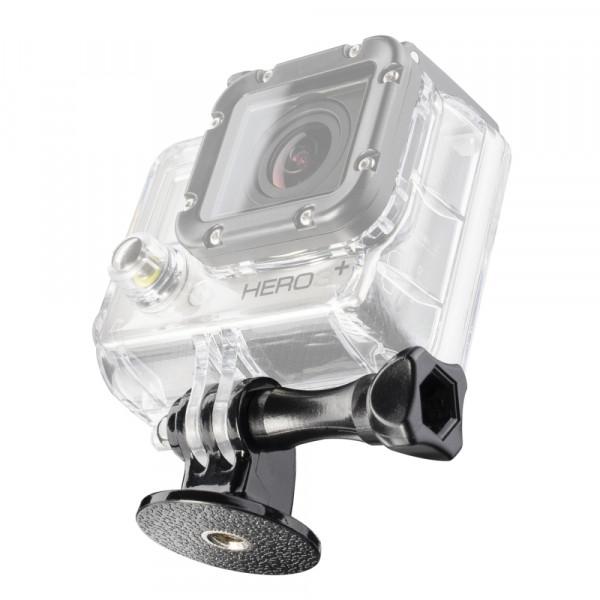 Mantona Adapter 1/4 Zoll Gewinde auf GoPro Mount