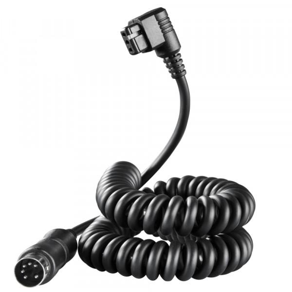 Walimex pro Powerblock Spiralkabel für Canon