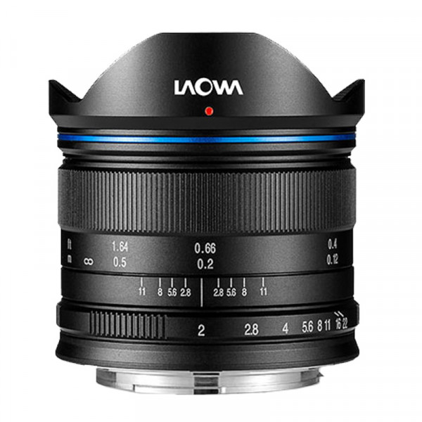 LAOWA 7,5mm f/2,0 Objekitv für MFT, schwarz