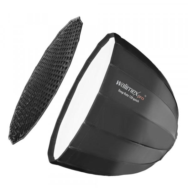 Walimex pro Studio Line Deep Rota Softbox QA120 mit Softboxadapter Walimex pro & K als B-Ware