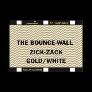 Sunbounce BOUNCE-WALL 2-in-1 REFLECTOR ZIG-ZAG GOLD / WHITE leicht warm - Struktur: 50% Gold 50% Weiss - Rückseite Weiss