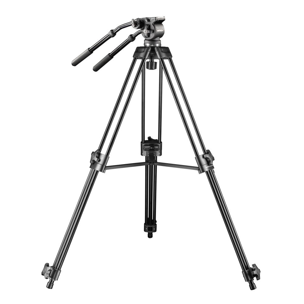 Walimex pro video trípode cineast i 188cm fotográfica con las libélulas y bolsa incl
