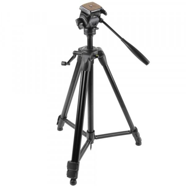 Walimex FW-3970 Semi-Pro Stativ mit 3D-Neiger 172cm schwarz