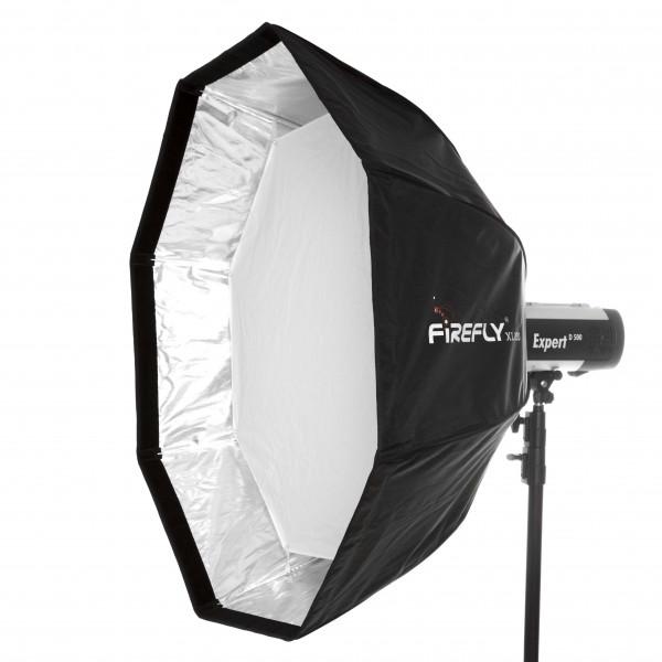 aurora Firefly XL 90 Falt-Softbox Ø 90 cm für Visatec + Broncolor Impact