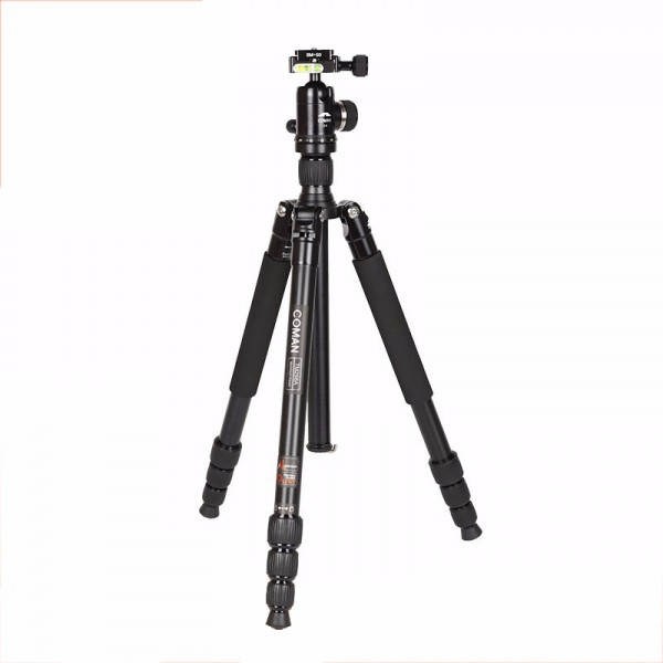 Coman TM256A+C0 Fotostativ Set mit Kugelkopf 155 cm