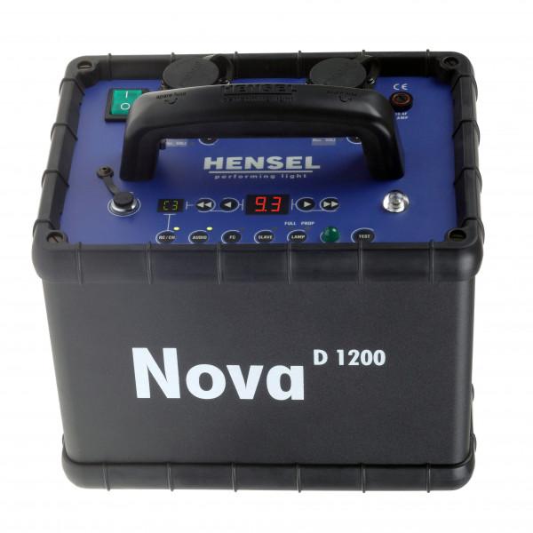 HENSEL Nova D 1200 mit Rundbuchsen
