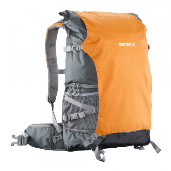 Mantona Kamerarucksack elementsPro 50 grau orange