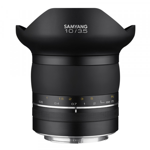 Samyang XP 10mm F3.5 Canon EF Premium MF Objektiv