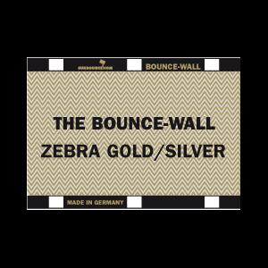 Sunbounce BOUNCE-WALL 2-in-1 REFLECTOR ZEBRA / WHITE leicht warm - Struktur: 50% Gold + 50% Silber - Rückseite Weiß