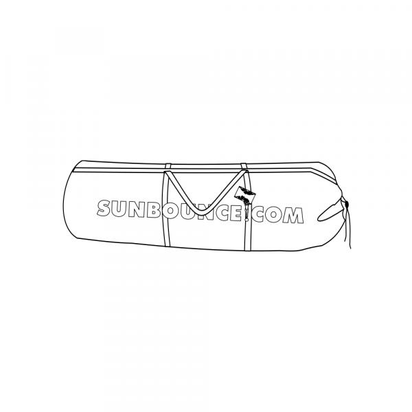 Sunbounce CAGE-BAG für BUTTERFLY-BESPANNUNGEN und weiche ZUBEHÖRTEILE