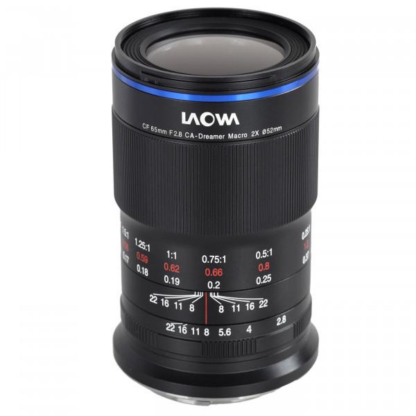 LAOWA 65mm f/2,8 2X Ultra Macro APO Objektiv für Fuji X