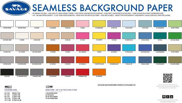 Savage (Tetenal) Farbmusterbuch Papierhintergründe Auflage 2021