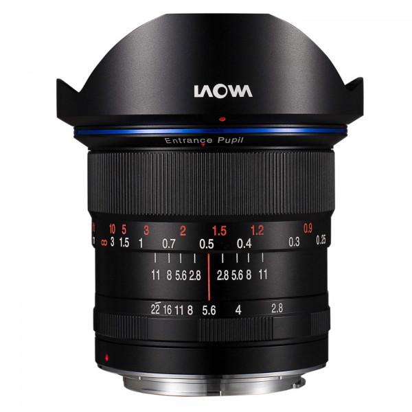 LAOWA 12mm f/2,8 Zero-D Objektiv für Canon EF