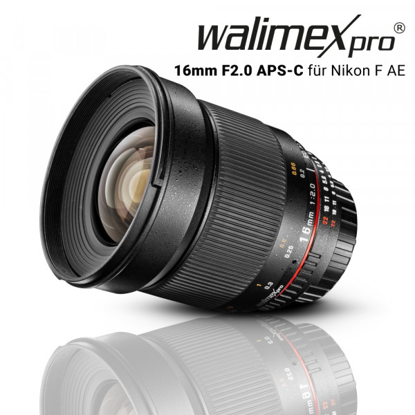 Walimex pro 16/2,0 APS-C Canon EF-S
