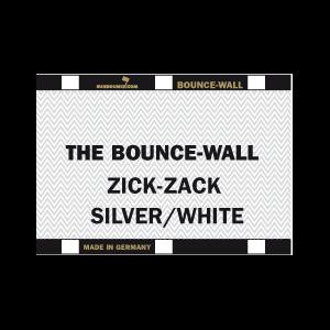 Sunbounce BOUNCE-WALL 2-in-1 REFLECTOR ZIG-ZAG SILVER / WHITE neutral - Struktur: 50% Silber 50% Weiss - Rückseite Weiss