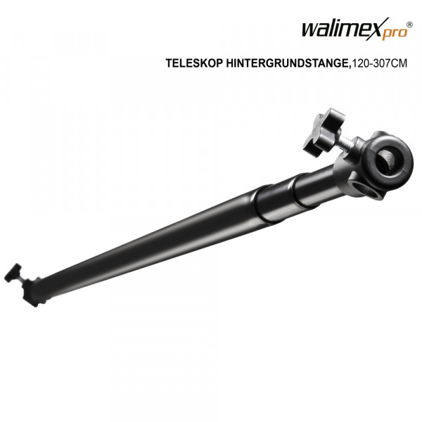 Walimex pro Teleskop Hintergrundstange, 120-307cm
