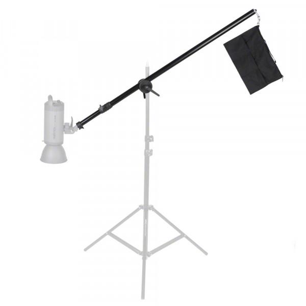 Walimex Galgen Deluxe mit Beschwerung 120-220cm als B-Ware
