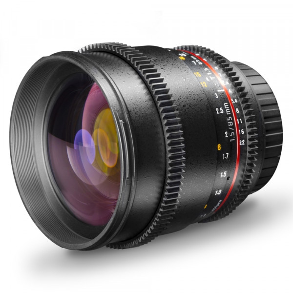 Walimex pro 85/1,5 Video DSLR MFT