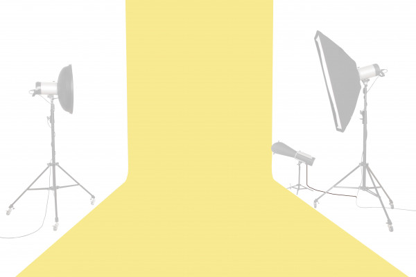 Tetenal (Savage) Hintergrundkarton 2,72x11m, Canary
