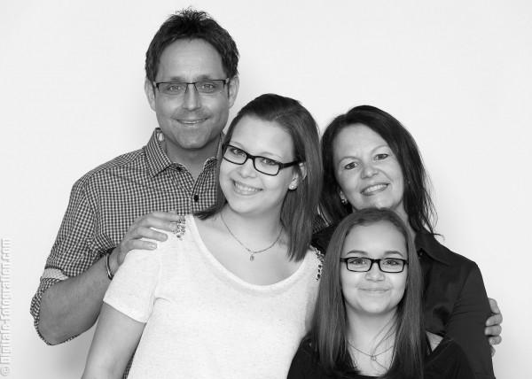 Gutschein für ein Familien Shooting im Studio