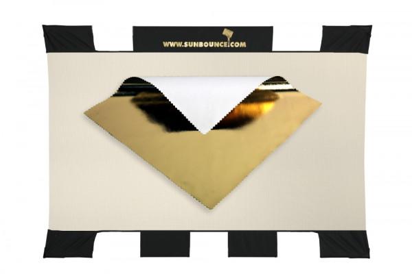 "Sunbounce SUN-BOUNCER MINI Reflektor GOLD Bespannung 90 x 125 cm / 3"" x 4"""