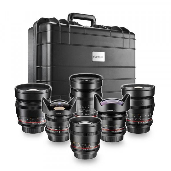 walimex pro VDSLR All Star Set für Nikon F II