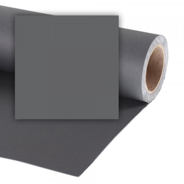 Colorama Hintergrundkarton 2,72 x 11m - Charcoal / Grau