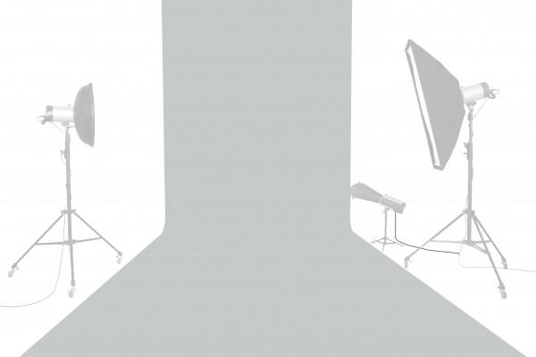 Tetenal Hintergrundkarton 1,35x11m, Focus Gray