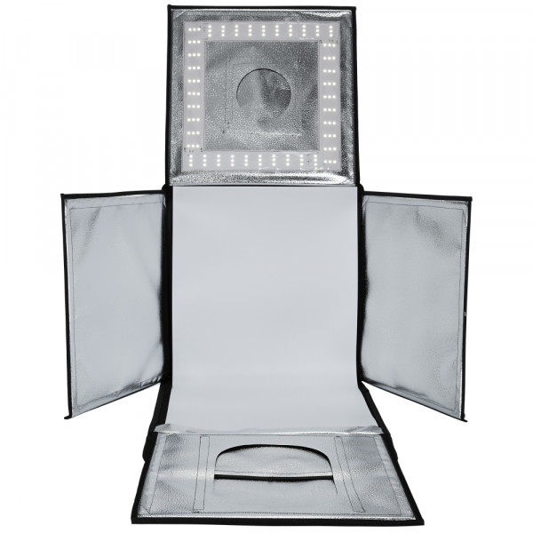 walimex pro faltbarer LED Aufnahmewürfel 40x40cm B-Ware