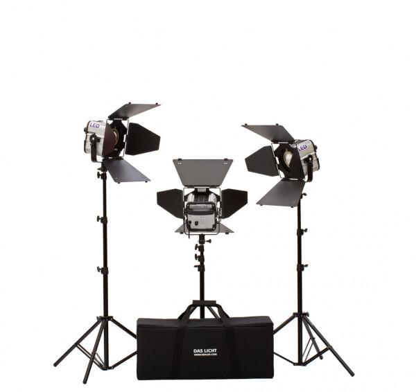 HEDLER Profilux LED 650 Pro3Kit (Flächenlicht, dimmbar)