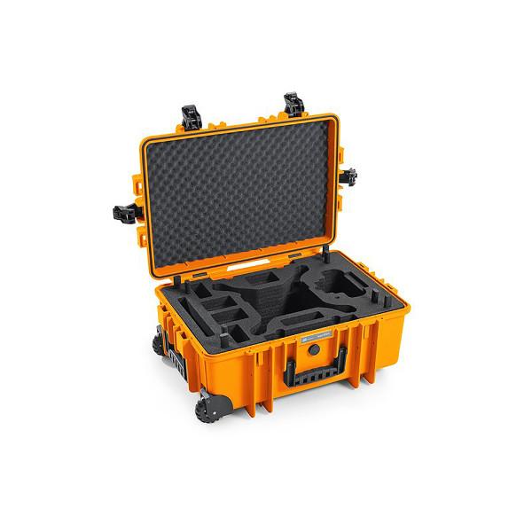 DJI Phantom 4 RTK - Transportkoffer Hard Case B&W Typ 6700 Orange