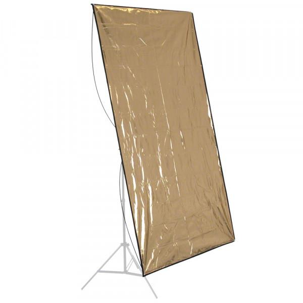 walimex Reflektorpanel silber/gold, 140x210cm B-Ware