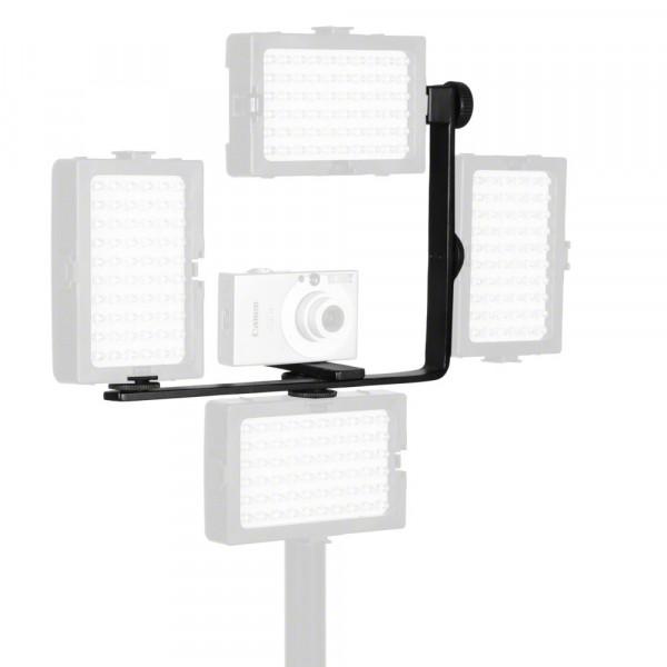 Walimex Hilfseckschiene gewinkelt, für max. 4 LED Leuchten