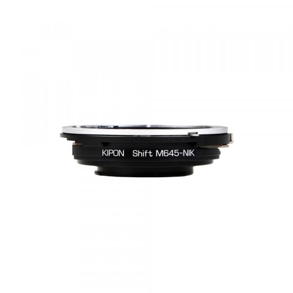 Kipon Shift Adapter für Mamiya 645 auf Nikon F