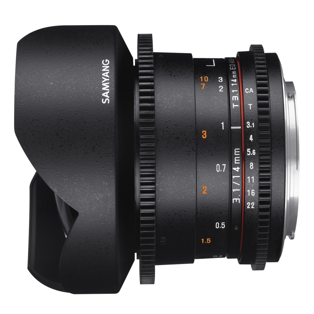 Buy - Samyang 10mm T3.1 VDSLR Canon - Production Gear Ltd