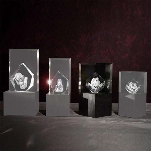 Leuchtstele für 3D Laser Viamantglas Illuminato Precious XXL