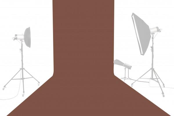 Tetenal Hintergrundkarton 1,35x11m, Chestnut